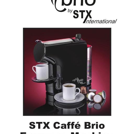 STXCaffeBrioEspressoMachineInstructions